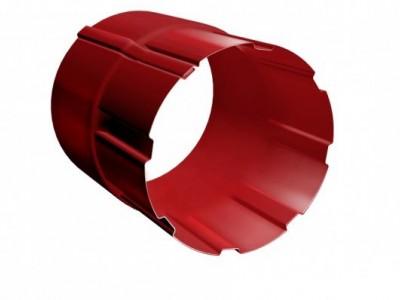 Соединитель трубы 90 мм RAL 3011 коричнево-красный