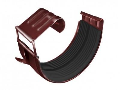 Соединитель желоба GL 125 мм RR 29 красный