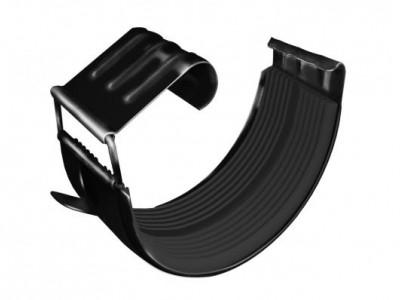 Соединитель желоба GL 125 мм RAL 9005 черный