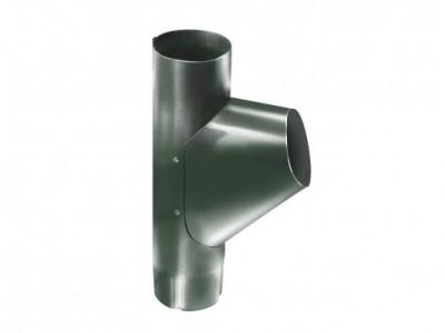 Тройник трубы,90 мм RR 11 темно-зеленый