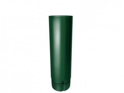 Труба круглая,90 мм 3 м RAL 6005 зеленый мох