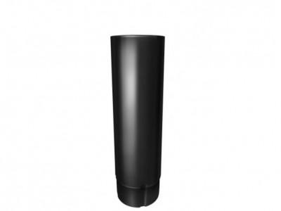 Труба круглая,90 мм 3 м RAL 9005 черный