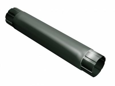 Труба круглая соединит.,90мм 1м RR 11 темно-зеленый
