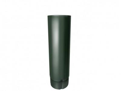 Труба круглая,90 мм 3 м RR 11 темно-зеленый