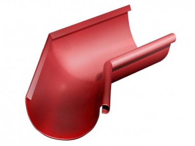 Угол желоба внутренний, 135 гр,125 мм RAL 3011 коричнево-красный