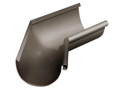Угол желоба внутренний, 135 гр,125 мм RR 32 темно-коричневый