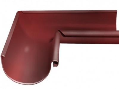 Угол желоба внутренний, 90 гр,125 мм RR 29 красный