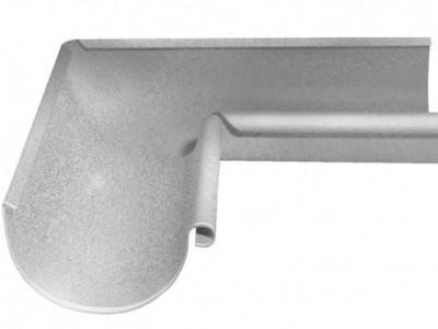 Угол желоба внутренний, 90 гр,125 мм Al-Zn