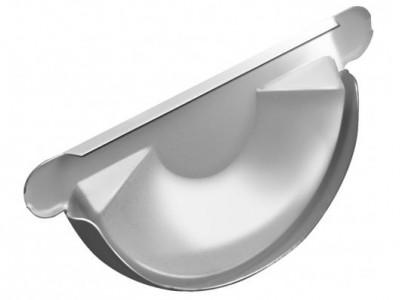 Заглушка торц.универс.,125 мм RAL 9003 сигнальный белый