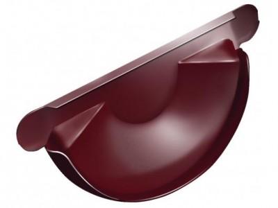 Заглушка торц.универс.,125 мм RAL 3005 красное вино