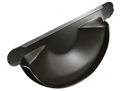 Заглушка торц.универс.,125 мм RR 32 темно-коричневый