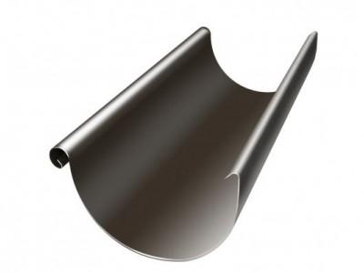 Желоб полукруглый, 125 мм, 3 м, RR 32 темно-коричневый